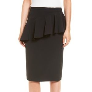 Halogen Ruffle Pencil Skirt